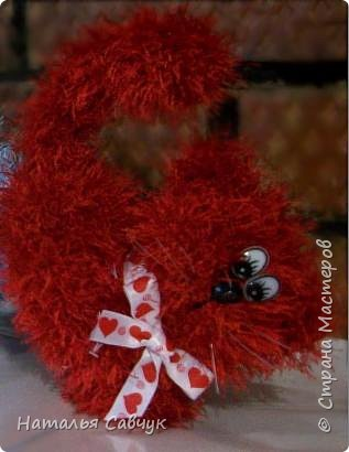 Всем привет!Вот такие сердечные коты связались в канун праздника, Дня св. Валентина)))Целый отряд получился...уж очень они популярные и милые))) фото 3