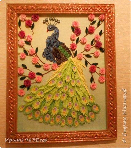 Давно хотела попробовать сделать такую царскую птицу по записи Ольги Ольшак. Спасибо ей за идею. фото 2