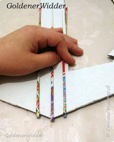 Поделка изделие 23 февраля Плетение Часы- якорь рабочие + небольшой рассказ о том как я их делала Бумага газетная Трубочки бумажные фото 2