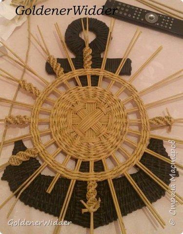 Поделка изделие 23 февраля Плетение Часы- якорь рабочие + небольшой рассказ о том как я их делала Бумага газетная Трубочки бумажные фото 39