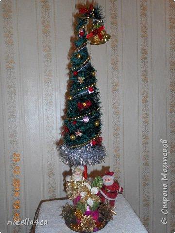 Новогодняя елочка,что может быть лучше на Новый год?А сделанная своими руками это вдвойне приятно!!! фото 1