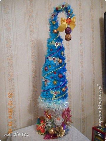 Новогодняя елочка,что может быть лучше на Новый год?А сделанная своими руками это вдвойне приятно!!! фото 3