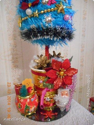 Новогодняя елочка,что может быть лучше на Новый год?А сделанная своими руками это вдвойне приятно!!! фото 6