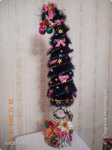 Новогодняя елочка,что может быть лучше на Новый год?А сделанная своими руками это вдвойне приятно!!! фото 7