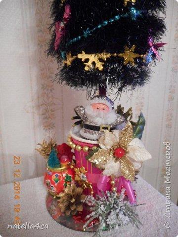 Новогодняя елочка,что может быть лучше на Новый год?А сделанная своими руками это вдвойне приятно!!! фото 8