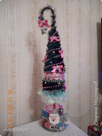 Новогодняя елочка,что может быть лучше на Новый год?А сделанная своими руками это вдвойне приятно!!! фото 9