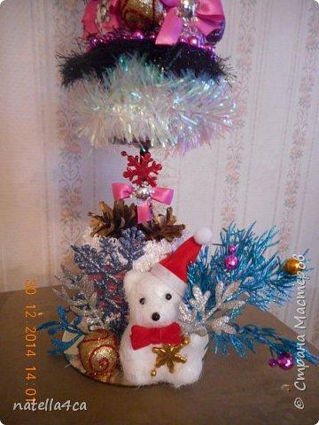 Новогодняя елочка,что может быть лучше на Новый год?А сделанная своими руками это вдвойне приятно!!! фото 16