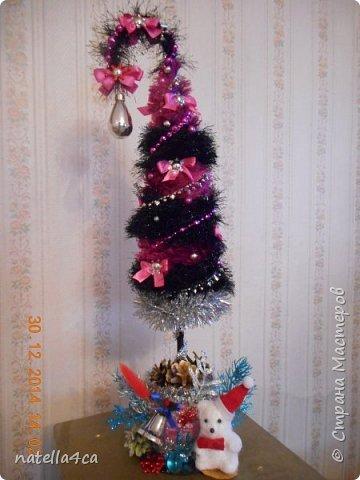 Новогодняя елочка,что может быть лучше на Новый год?А сделанная своими руками это вдвойне приятно!!! фото 17