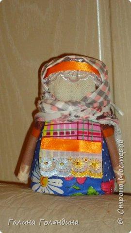 вот такая куколка поселилась у нас - оберег на сытость и достаток в доме
