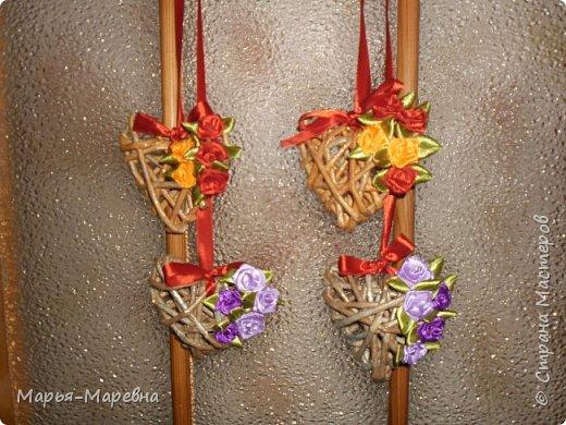 Всем здравствуйте! К грядущему Дню Св. Валентина наплела сердечек, которые облюбовала у Olga Beck, очень уж они мне понравились! фото 1