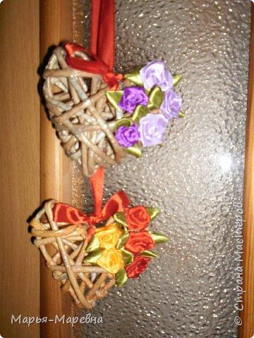 Всем здравствуйте! К грядущему Дню Св. Валентина наплела сердечек, которые облюбовала у Olga Beck, очень уж они мне понравились! фото 3
