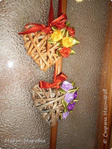 Всем здравствуйте! К грядущему Дню Св. Валентина наплела сердечек, которые облюбовала у Olga Beck, очень уж они мне понравились! фото 2