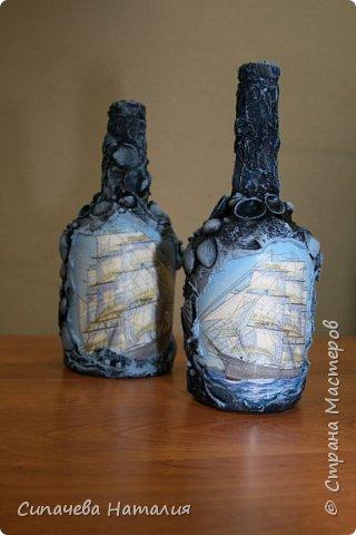 Морская бутылка фото 2