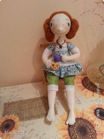 Моя первая кукла по выкройке Елены Войтановской :) фото 1