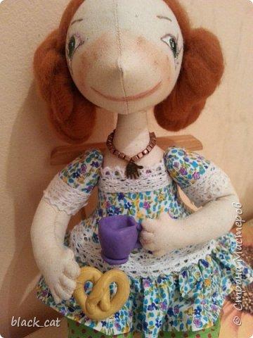 Моя первая кукла по выкройке Елены Войтановской :) фото 3