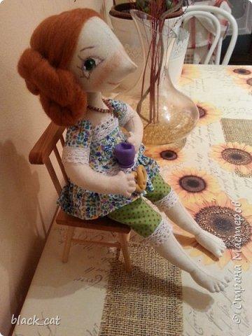 Моя первая кукла по выкройке Елены Войтановской :) фото 2