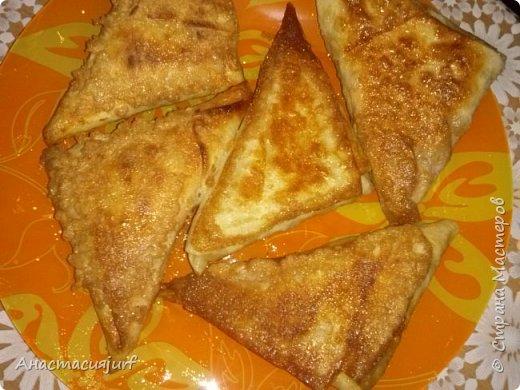 Кулинария Мастер-класс Треугольники из лаваша с ветчиной и сыром фото 1