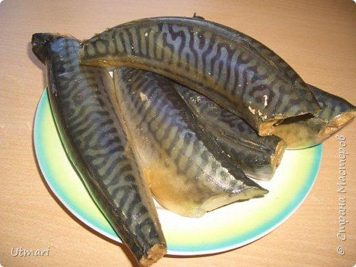 Кулинария Мастер-класс Рецепт кулинарный Скумбрия холодного копчения пряная Продукты пищевые фото 9