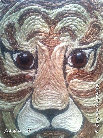 """Привет всем Мастерам и Мастерицам и просто гостям!!! А вот моя 2 часть """"Африки"""" !!! Ну какая Африка без тигра а дом без ключницы??!!)) И вот небольшой МК! фото 13"""