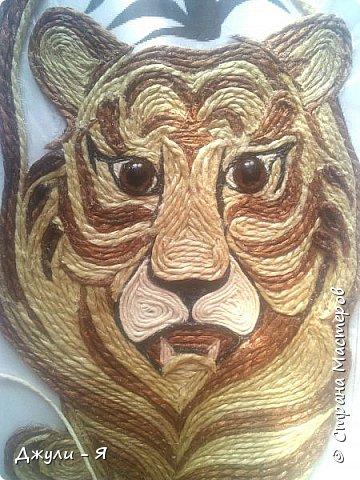 """Привет всем Мастерам и Мастерицам и просто гостям!!! А вот моя 2 часть """"Африки"""" !!! Ну какая Африка без тигра а дом без ключницы??!!)) И вот небольшой МК! фото 14"""