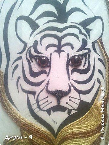"""Привет всем Мастерам и Мастерицам и просто гостям!!! А вот моя 2 часть """"Африки"""" !!! Ну какая Африка без тигра а дом без ключницы??!!)) И вот небольшой МК! фото 6"""