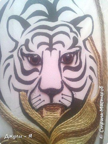 """Привет всем Мастерам и Мастерицам и просто гостям!!! А вот моя 2 часть """"Африки"""" !!! Ну какая Африка без тигра а дом без ключницы??!!)) И вот небольшой МК! фото 7"""