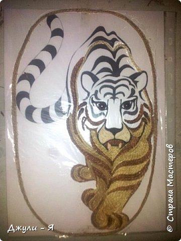 """Привет всем Мастерам и Мастерицам и просто гостям!!! А вот моя 2 часть """"Африки"""" !!! Ну какая Африка без тигра а дом без ключницы??!!)) И вот небольшой МК! фото 9"""