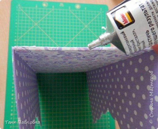 Мастер-класс Поделка изделие Вышивка Картонаж Шкатулка юбилейная №50 Канва Картон Ткань фото 20