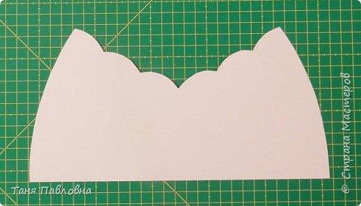 Мастер-класс Поделка изделие Вышивка Картонаж Шкатулка юбилейная №50 Канва Картон Ткань фото 5