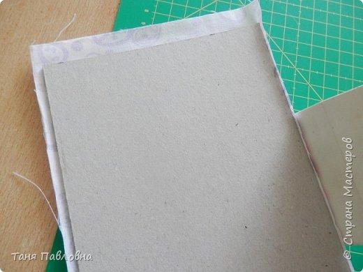 Мастер-класс Поделка изделие Вышивка Картонаж Шкатулка юбилейная №50 Канва Картон Ткань фото 8