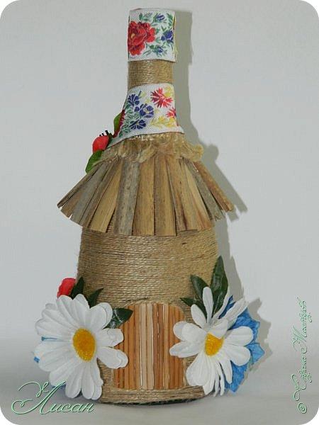 Бутылочки-домики. фото 2