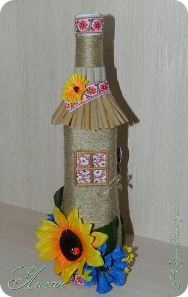 Бутылочки-домики. фото 3