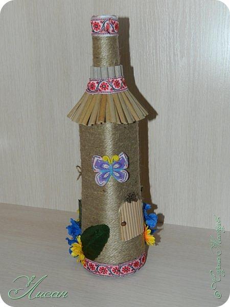 Бутылочки-домики. фото 4