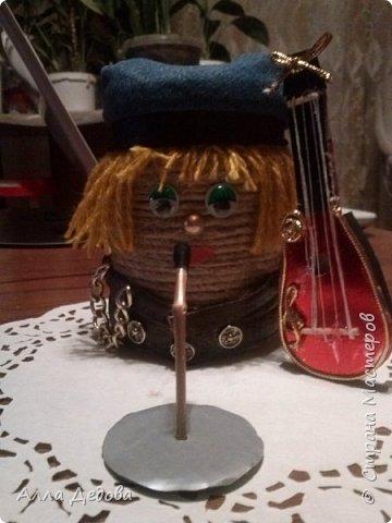 Домовенок Рок музыкант фото 2