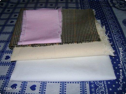 Мастер-класс Шитьё Шьём -Смешную коровку- М К Клей Кофе Краска Ткань фото 3