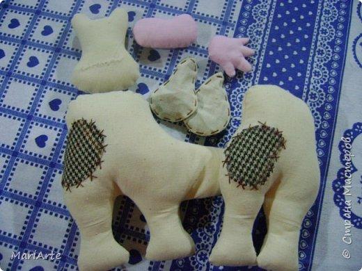 Мастер-класс Шитьё Шьём -Смешную коровку- М К Клей Кофе Краска Ткань фото 13