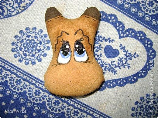 Мастер-класс Шитьё Шьём -Смешную коровку- М К Клей Кофе Краска Ткань фото 33