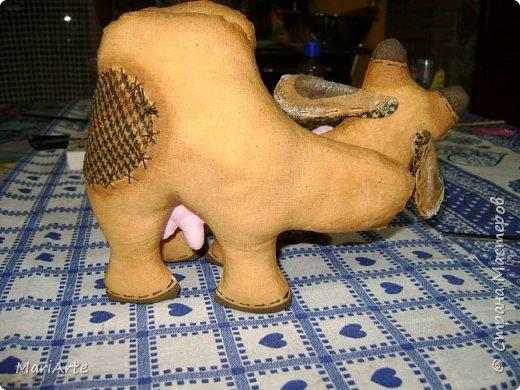 Мастер-класс Шитьё Шьём -Смешную коровку- М К Клей Кофе Краска Ткань фото 41