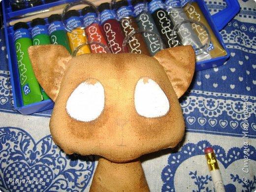 Идею такого котика с печальными глазками я взяла у Татьяны Ивлевой (Спасибо, Танюша).   Выкройку сделала сама, и вот получаются такие котята. Я расскажу, как  можно сделать такого ....  фото 12
