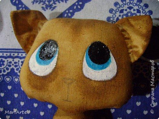 Идею такого котика с печальными глазками я взяла у Татьяны Ивлевой (Спасибо, Танюша).   Выкройку сделала сама, и вот получаются такие котята. Я расскажу, как  можно сделать такого ....  фото 15