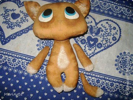 Идею такого котика с печальными глазками я взяла у Татьяны Ивлевой (Спасибо, Танюша).   Выкройку сделала сама, и вот получаются такие котята. Я расскажу, как  можно сделать такого ....  фото 16