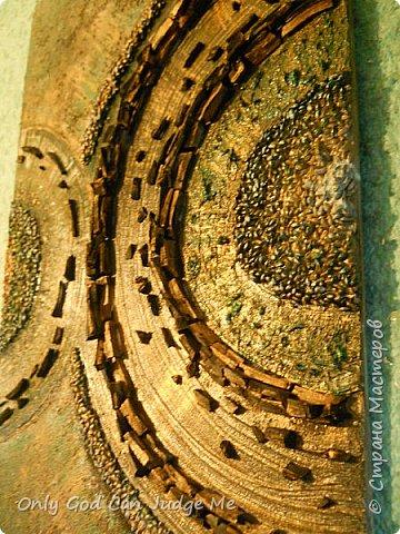 Картина панно рисунок Мастер-класс Рисование и живопись Диптих Шахтерское сердце Акварель Камень Клей Краска Материал природный фото 36
