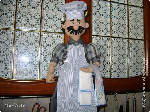 Дорогие мастерицы, давайте сошьем вот такого Повара!!! Ведь всегда приятно, когда мужчина трудится на кухне  ))))) фото 66