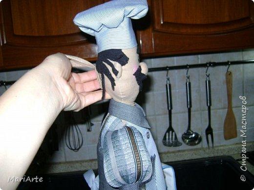 Дорогие мастерицы, давайте сошьем вот такого Повара!!! Ведь всегда приятно, когда мужчина трудится на кухне  ))))) фото 73