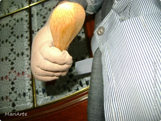 Дорогие мастерицы, давайте сошьем вот такого Повара!!! Ведь всегда приятно, когда мужчина трудится на кухне  ))))) фото 71