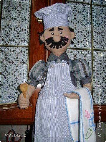 Дорогие мастерицы, давайте сошьем вот такого Повара!!! Ведь всегда приятно, когда мужчина трудится на кухне  ))))) фото 75