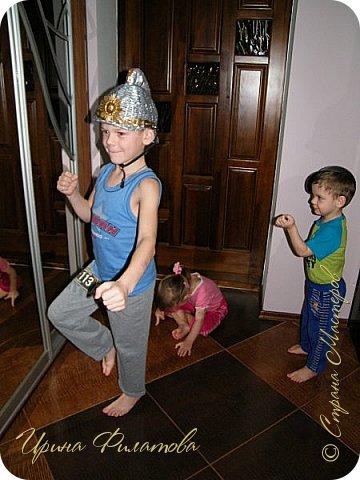 """Всем привет!!! Сегодня я к вам с головным убором пожаловала...очередной , наш с сынулей конкурс.....и как вы уже догадались называется он -""""Пожарная безопасность""""....... фото 28"""