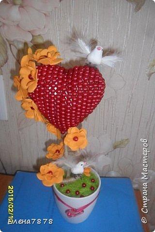 мое первое сердце из фоамарина фото 4