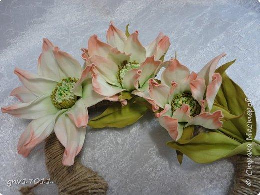 Доброго времени суток, мастера и мастерицы! Выдалась свободная минутка, хочу показать очередные мои цветочки.  фото 11
