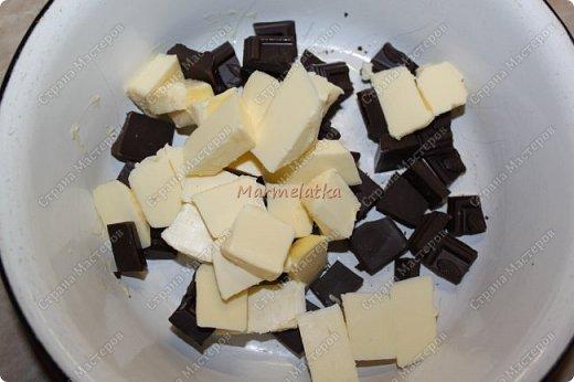 С Днем Всех Влюбленных!!!! Вот такую вкусноту я испекла любимому))) Брауни с вишней и творогом, мммм... фото 3